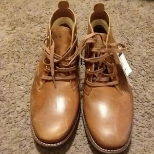 Men's brown dress shoes Timberland